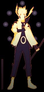 Naruto Dalam Rikudou Mode  mangacomzone