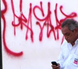 """Grafitis UnidadDeportiva """"20 de Noviembre"""" Ciudad Calkiní. 8ago2011."""