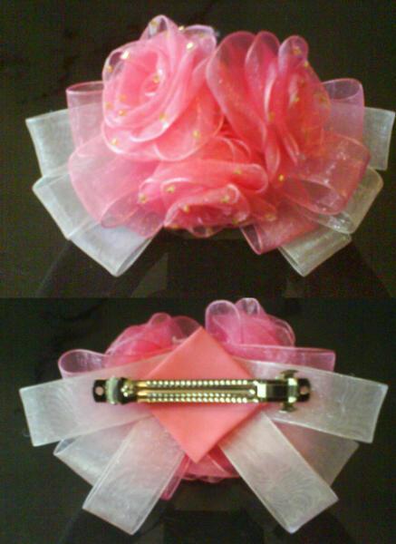 Flower Ribbon Gradient Color