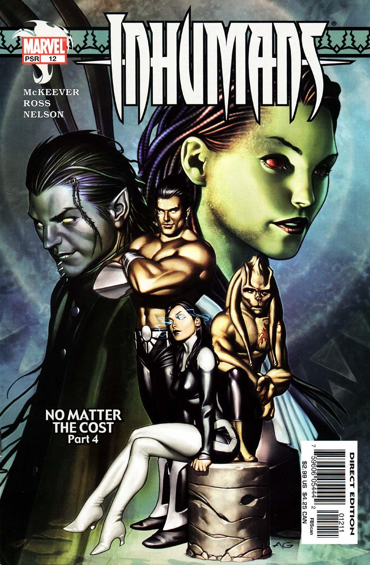 Inhumans (2003) 12 Page 1