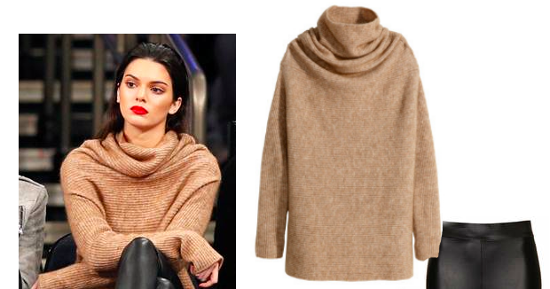 Viva Fashion Steal Her Look Kendall Jenner 39 S Turtle Neck Sweater