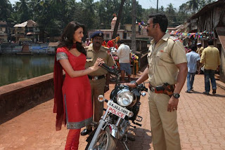 Singham Girl-Kajal Agarwal Wallpaper 06