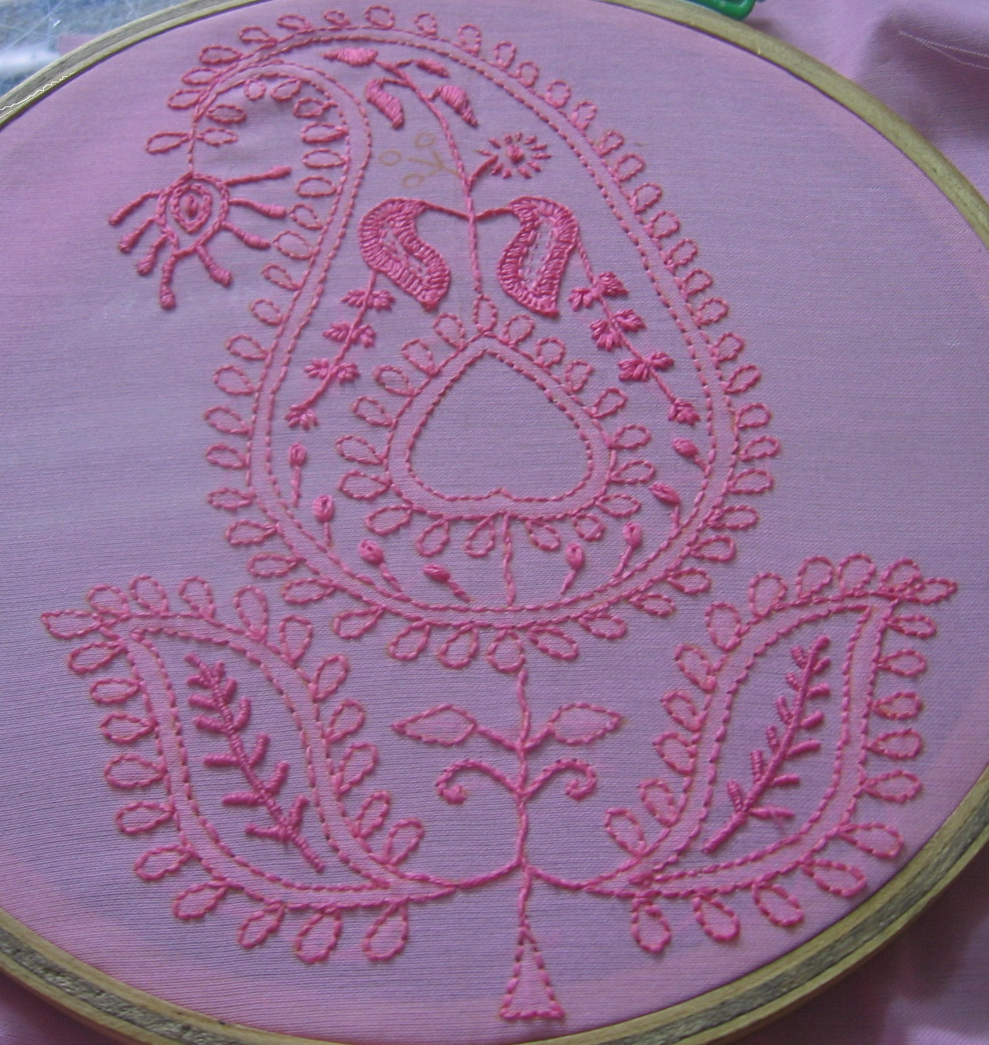 My craft works chikan embroidery sal