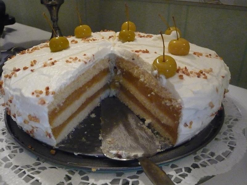 Diese Torte hat von allen Geburtstagsgästen ein positives Feedback ...