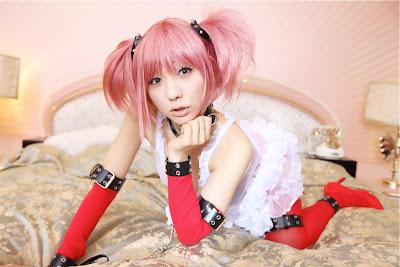 [Cosplay] Misaki Hanamura - COSHOLIC 02  Mahou Shoujo Magica☆Madoka 魔法少女ほむら☆マジカ