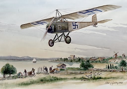 Thulin D / FAF first plane 1917