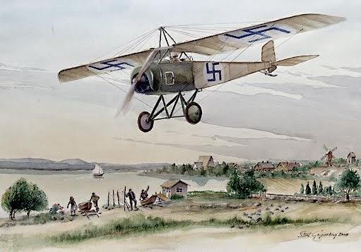 Thulin D / FAF first plane 1917