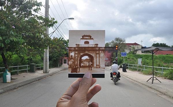 vietna em sobreposição de fotos