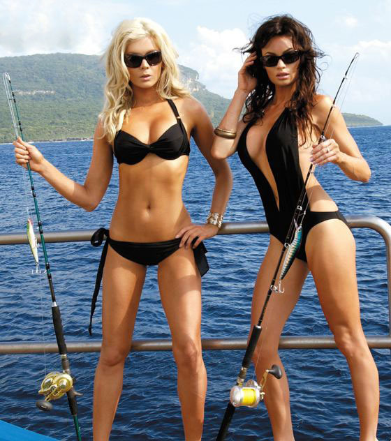 From the mind of a mad man the summertime cat post for Hot chicks fishing