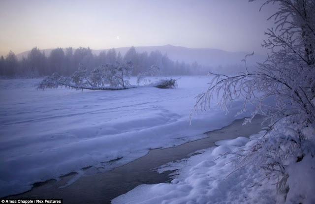 Oymyakon, el lugar más frío del mundo