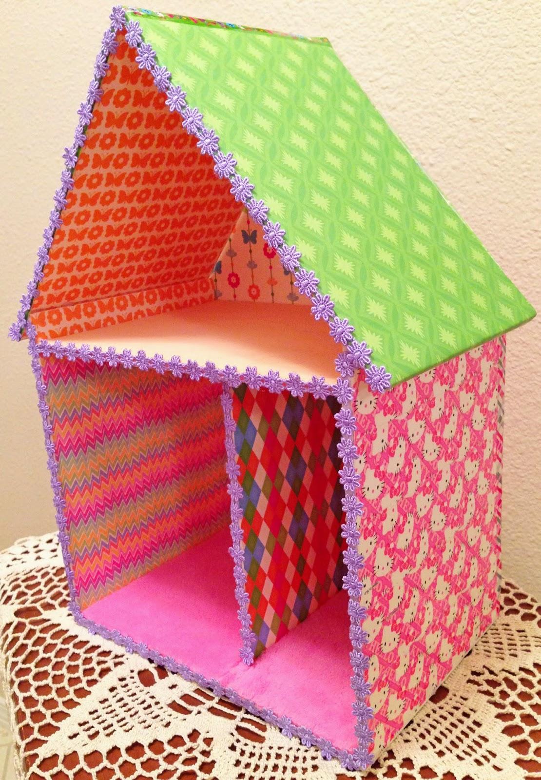 Dollhouse decorating a quick easy fun cheap foam for Foam board project ideas