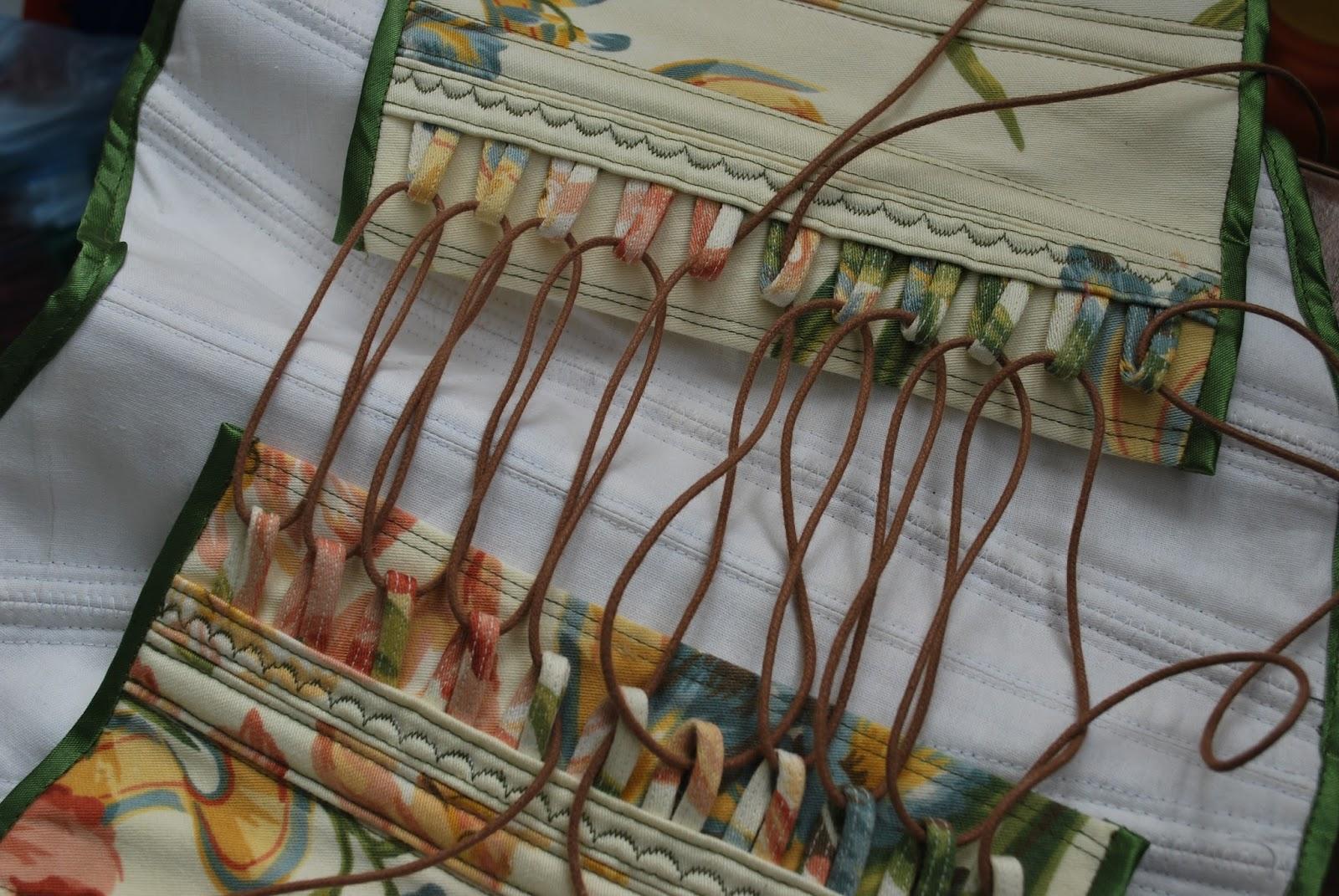 Как сделать петли на ткани