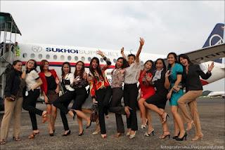 Foto Kecelakaan Pesawat Sukhoi Super Jet 100