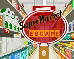 Escape Games Supermarket Escape 6