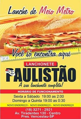 Lanchonete Paulistão