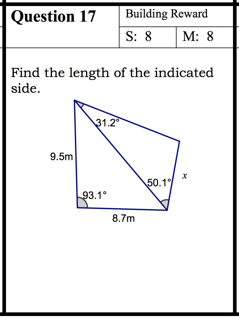 grade 11 math exam pdf