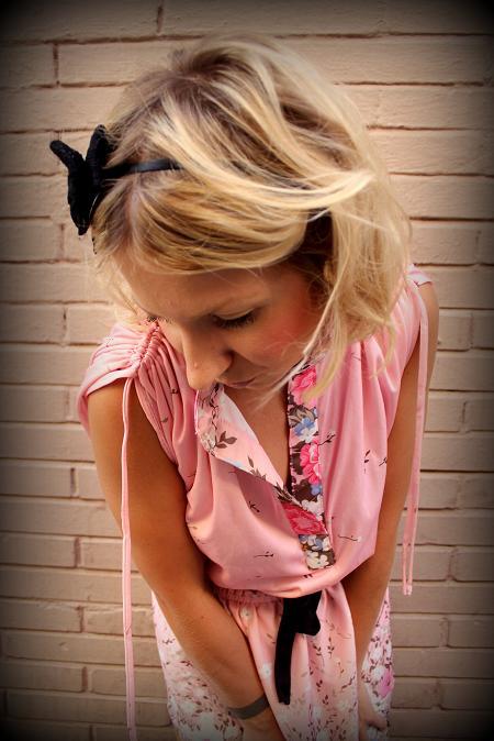 vestido vintage rosa veraniego