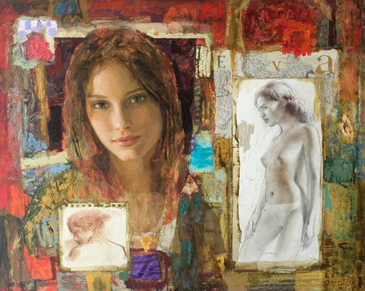 Goyo Dominguez 1960 | Spanish-born British Romantic Realist painter