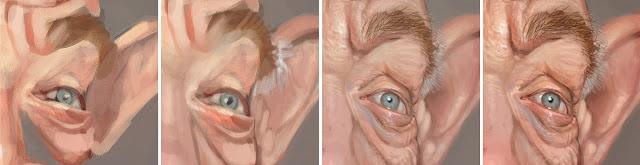 "Proceso ojo derecha ""J. K. Simmons"" por Bruno Hamzagic"