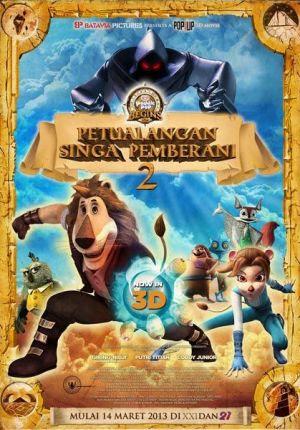 Petualangan Singa Pemberani 2 Film