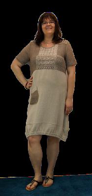 sukienka dla puszystych pań