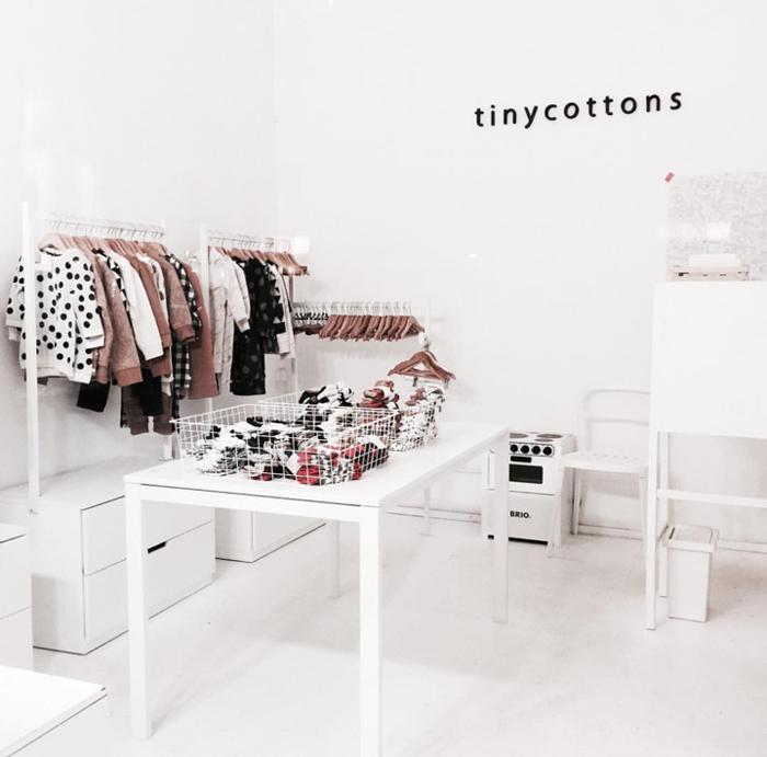 tiny cottons store in Barcelona