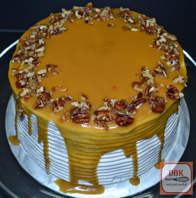 Kek Pecan Heaven a.k.a Kek Pecan Butterscotch