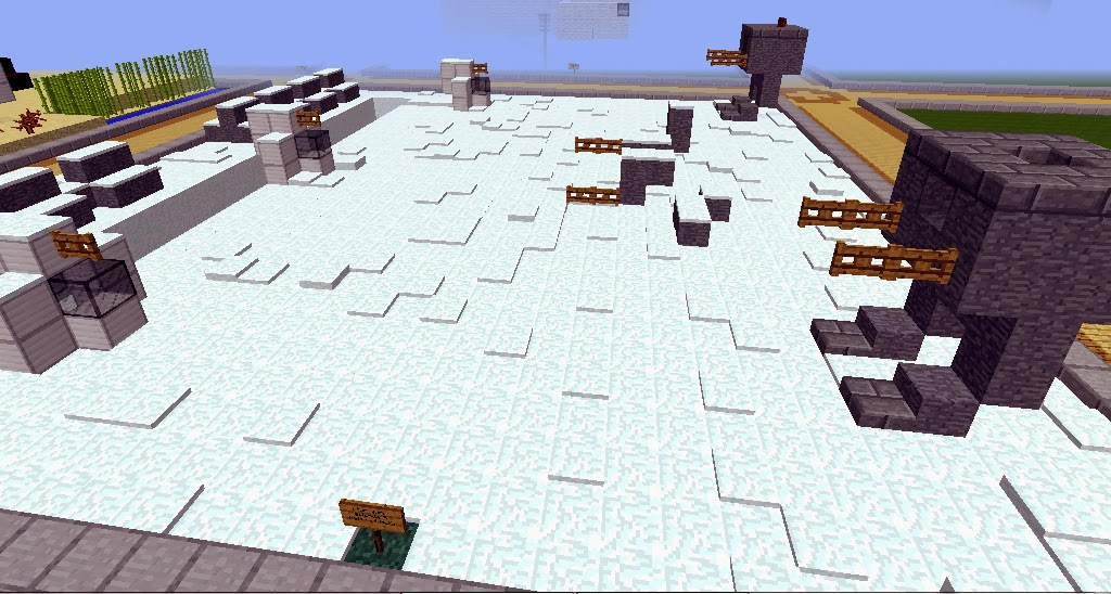 Star Wars: Battle on Hoth, AT-ST Walker on the Skrafty Minecraft Server by CodyRocketLaunch