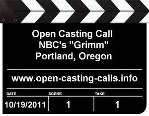 NBC Grimm Portland Open Casting Call