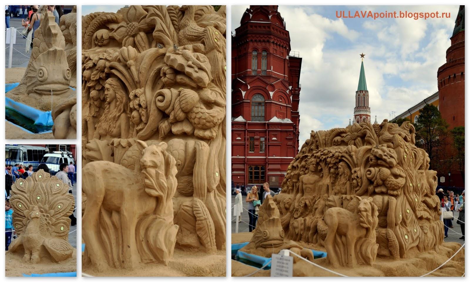 песочная скульптура на день города