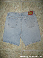 Quần short jean hiệu TWO PEPPER JEANS 150k