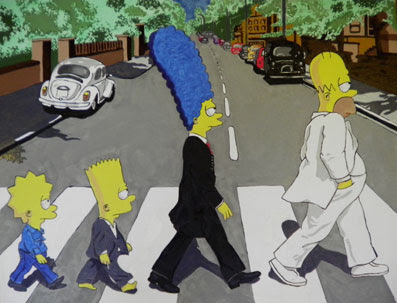  Simpsons the Beatles 