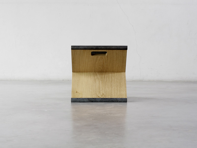 Elegant Noon Studio Have Designed A Portable Stool.The Stool Was Made Of A Simple  Metal Steel Supported By The Minimally Designed Wooden Y Frame Which Can Be  ...