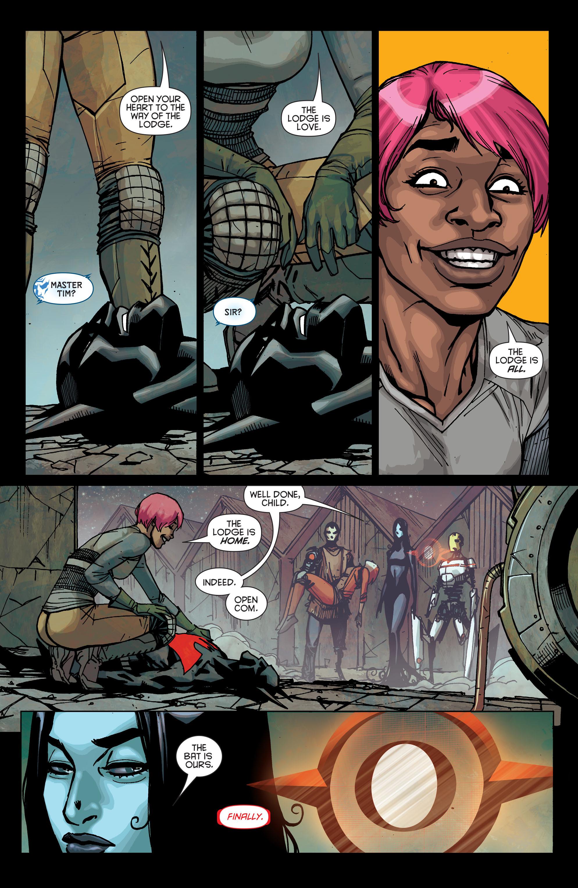Batman Beyond (2015) Issue #2 #2 - English 22