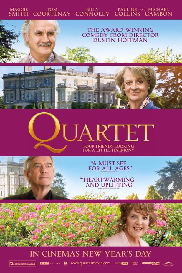 AngryVader's Movie Blah...: Quartet (2012) - Movie Review