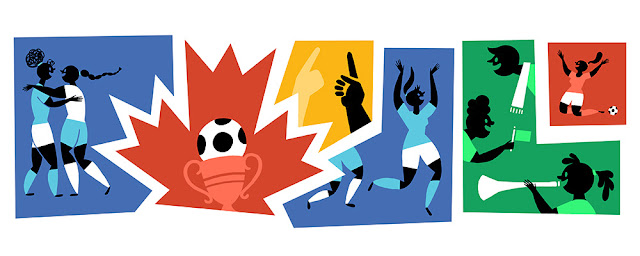 FIFA Women's World Cup 2015 Finals: Google Doodle