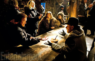 The Hateful Eight Set Photo