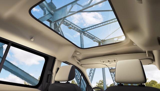 панорамная крыша Ford Transit Connect Wagon 2014