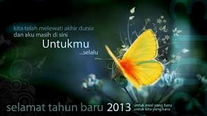 Kata Kata Mutiara Tahun Baru 2013