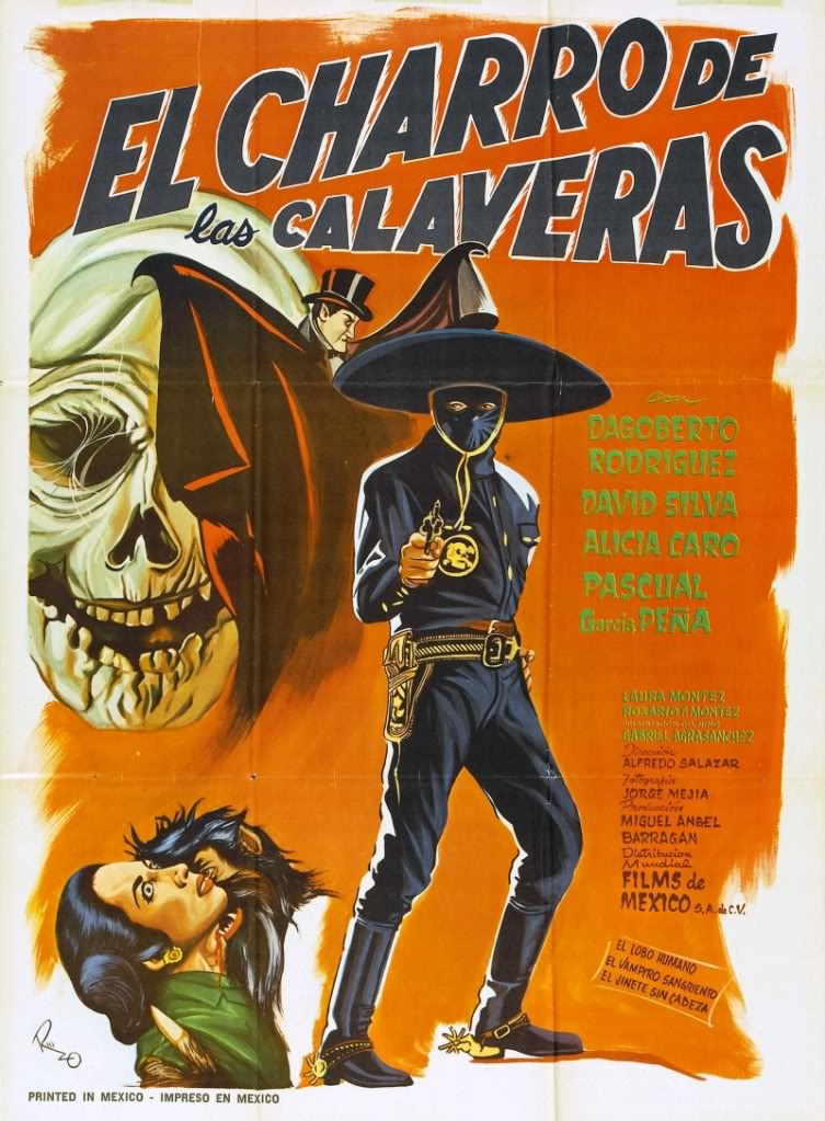 El charro de las Calaveras movie
