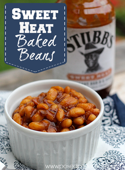 These Sweet Heat Baked Beans are the perfect side dish for all your grilled meats!