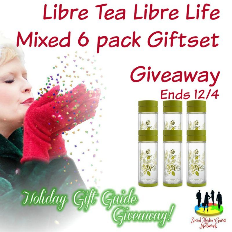 Libre Tea Libre Life Mixed 6 Pack Giftset