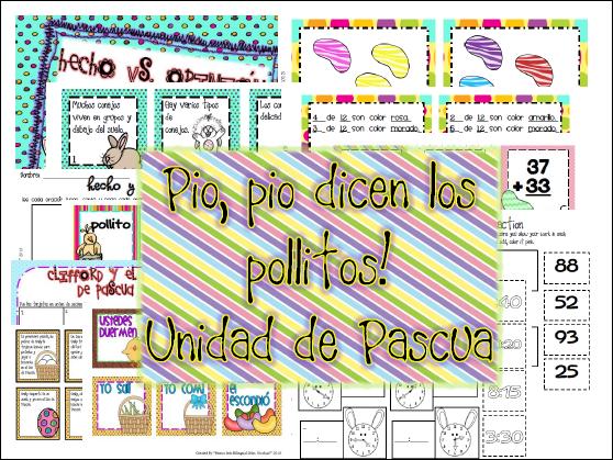 https://www.teacherspayteachers.com/Product/Unidad-de-Pascua-factopinsecuencia-Alfabetico-verbos-pasapres-MATEMA-628444