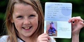Criança de 9 anos cruza a fronteiras turca com o passaporte do seu peluche