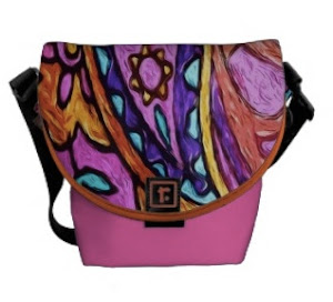 Liz's Colorful Messenger Bags