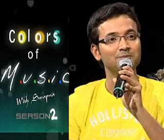 SriKrishna in Colors of Music-2 with Swapna