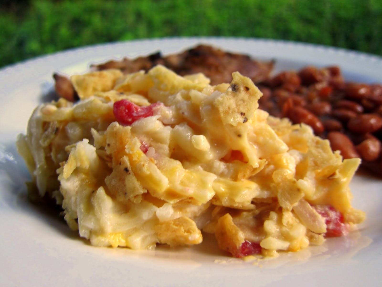 Southwestern Potato Casserole Recipe - creamy potato casserole with ...