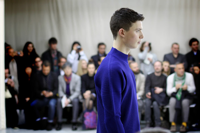 Issey Miyake menswear AW 2012 in Paris