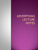 Advertising Lecture Notes