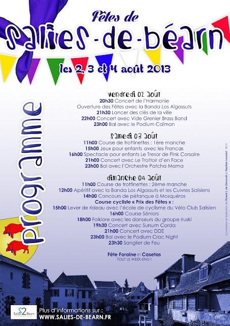 #Fêtes de #Salies de #Béarn 2013